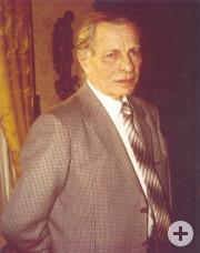 Theo Eberhard, der Gründungsvorsitzende der Lebenshilfe