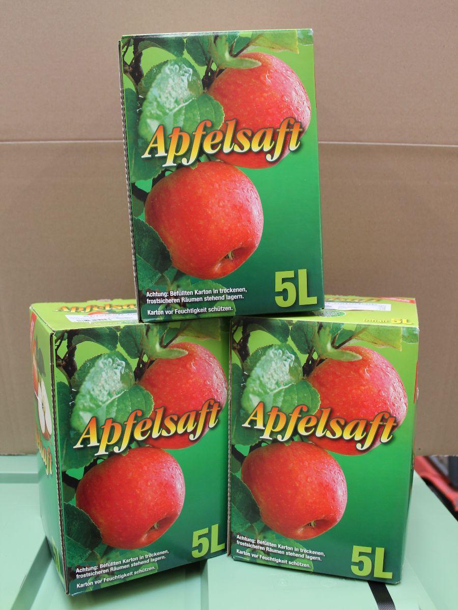 Spende Apfelsaft